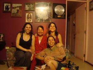 Entrevistando a Amparito Jimenez. Archivo Tiesos pero Cumbiancheros 2011