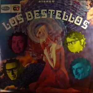 Primer LP de los Los Destellos de 1968.                  Fuente: colombiachikita.blogspot.com.