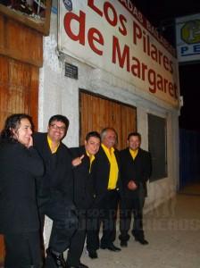 Grupo Albacora en Los Pilares de Margaret, Coquimbo 2011.