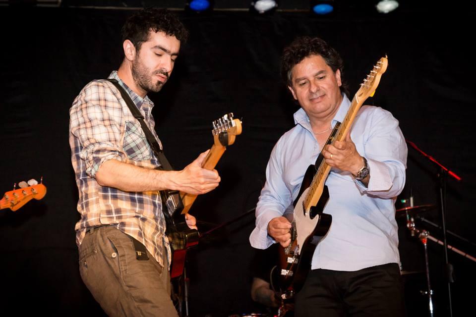 Gonzalo Cordero y Eduardo Macuada el día del lanzamiento del libro. Foto: Gonzalo Cordero
